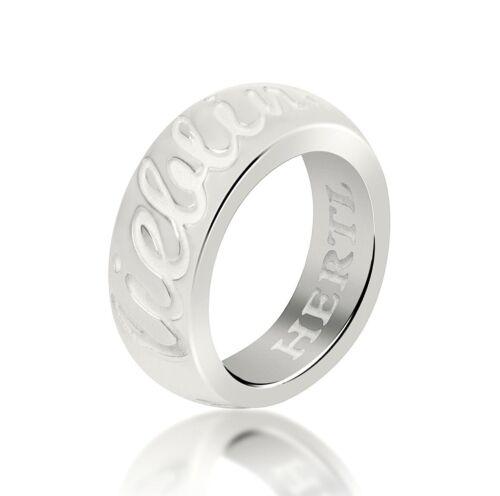 HERTL Ring mit Gravur 20473 LIEBLINGSMENSCH 925 Sterlingsilber