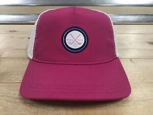 3dc6414064b 2018 Womens Puma Patch Snapback Golf Hat Cap Magenta Haze Trucker ...