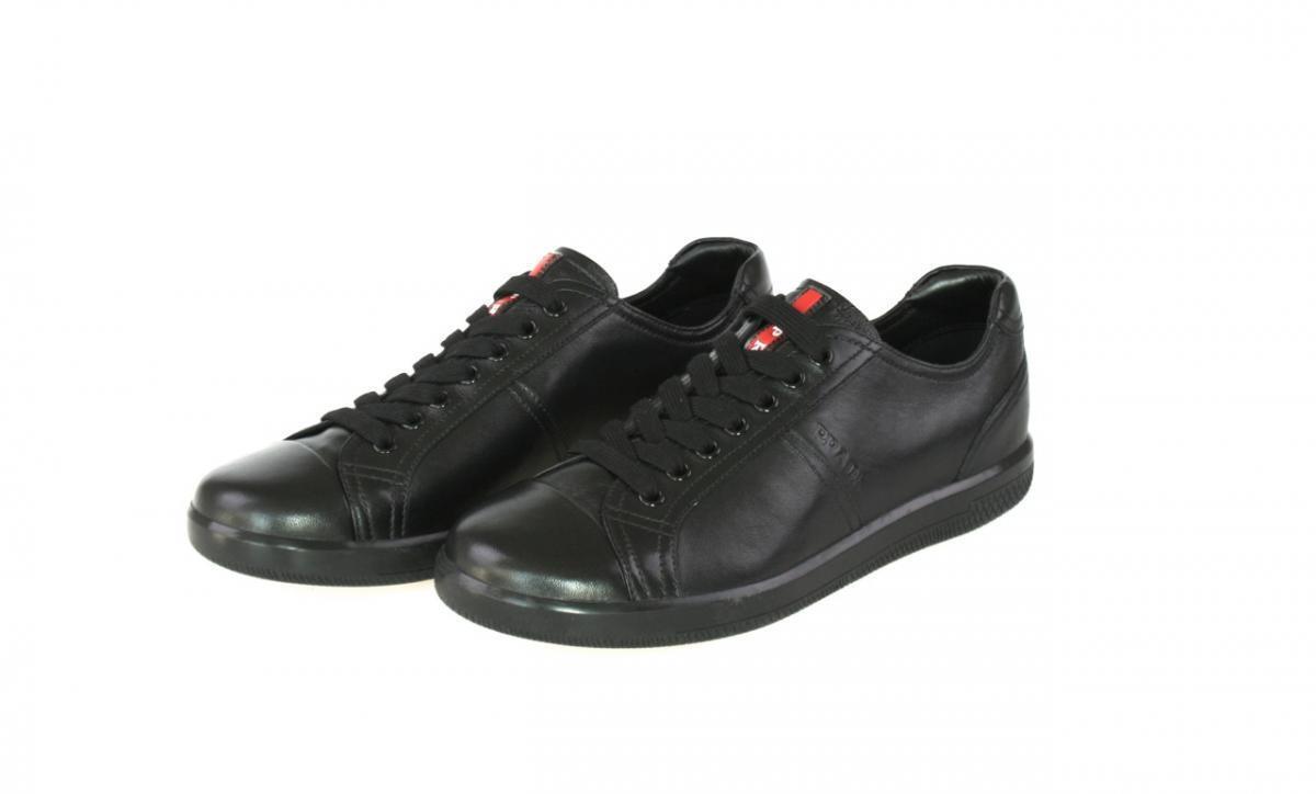 LUXUS Negro PRADA SNEAKER Zapatos 4E2529 Negro LUXUS NEU NEW 9 43 43,5 27ec9e
