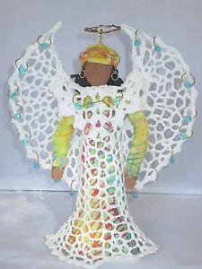Beaded Angel / Doll - Handmade w/ Swarovski Crystals by MJG's Creations