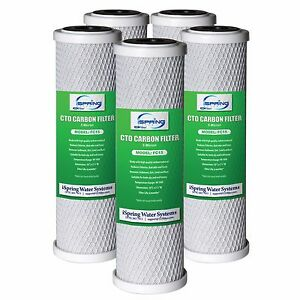 Lot of 6 carbon block filter cartridge RO replacement Gotowanie i jedzenie