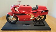 KAWASAKI NINJA NOVELTY TELEPHONE Red Motorcycle Corded Phone Telemania '91 WORKS