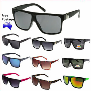 Mens-Womens-OZ-Seller-Free-Postage-Wayfarer-Vintage-Large-Fashion-Sunglasses-208