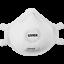 Indexbild 2 - UVEX sliv-Air 2310 FFP3 NR D mit Ventil Atemschutzmaske Mundschutz Maske