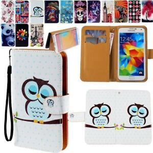 Flip-Wallet-Card-Stand-Leather-Case-Cover-For-Samsung-Galaxy-S-1234567-Mobile