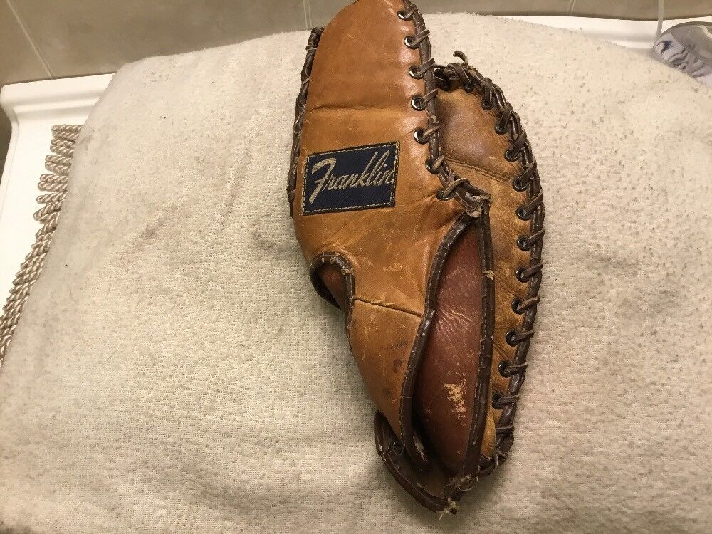 "Franklin USA Gil Hodges 12"" Baseball, First Base Mitt Right Right Right Hand Throw a1c7c9"
