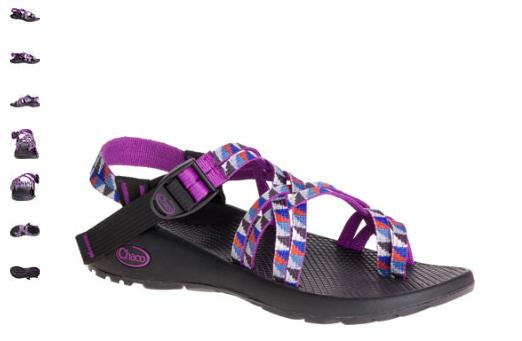 Chaco ZX 2 Clásico Camper Sandalia cómoda Púrpura Púrpura Púrpura Para Mujer Tallas 6-9 NIB  preferente