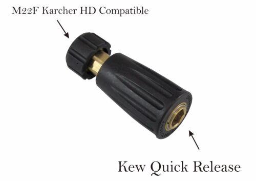 Lavadora a presión de liberación rápida Snap Kew compatible a m22f acoplamiento
