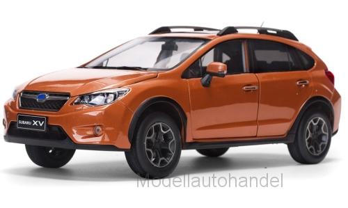 Subaru XV, dunkelOrange, 2014 - 1 18 SunStern 5571  NEW
