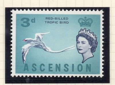 Ascension Island Straightforward Ascension 1963 Early Issue Fine Mint Hinged 3d 230073
