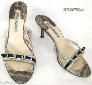 Skin condizioni Mules Ottime Padovan In With Aspect 40 Heels Reptil Luciano nXpaqAq