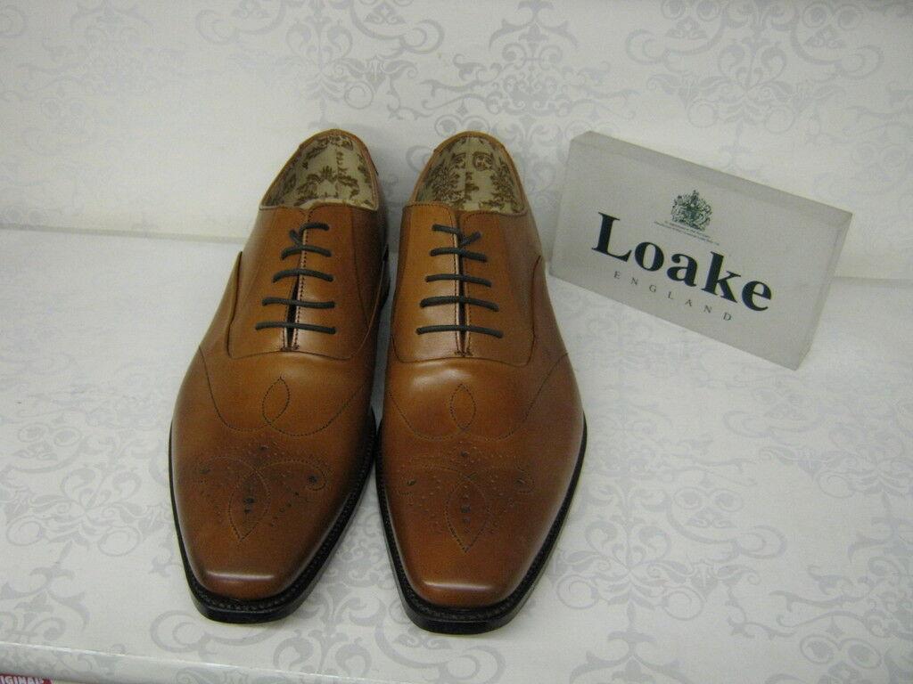 Design Loake Loake Design Gunny Tan Leather Lace Up Shoes Scarpe classiche da uomo 50bde4