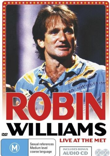 1 of 1 - Robin Williams: Live at the Met (Inc) NEW R4 DVD