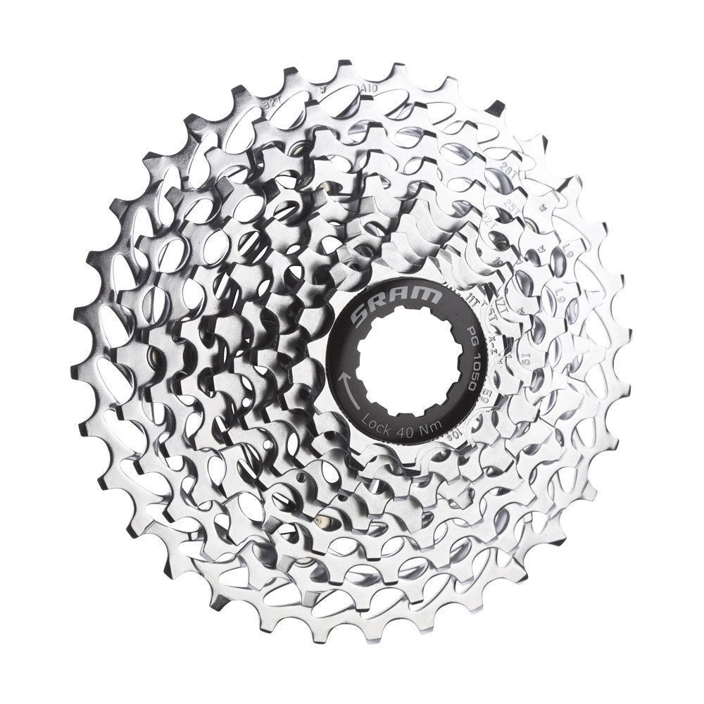 SRAM 10 SPEED CASSETTE PG-1050 11-32T, 11-23T, 12-26T OPTIONS AVAILABLE
