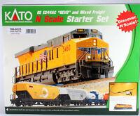 Kato 106-0023 N ES44AC Gevo and Mixed Freight Train Starter Set Union Pacific Toys