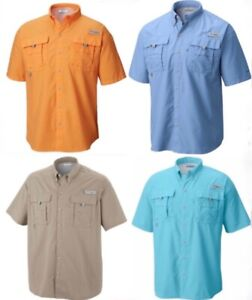 Columbia-PFG-Bahama-ll-Mens-Short-Sleeve-Fishing-Shirt-Big-amp-Tall-NEW