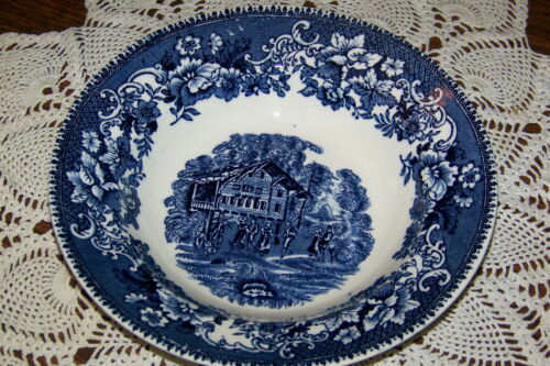 Avon Cottage 8-inch Rimmed Soup Bowl Thomas Hughes /& Sons