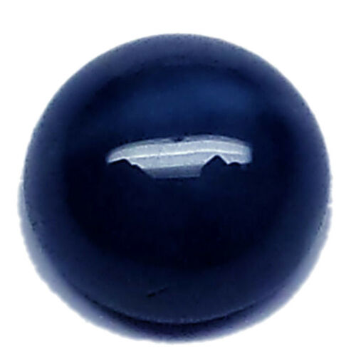 5mm//6mm 6 Rays Natural Blue Star Sapphire Round Cabochon Loose stone Jewelry NEW