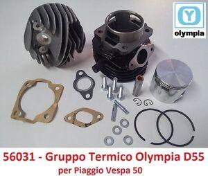 Gruppo-Termico-Cilindro-Pistone-Olympia-D55-100cc-per-Piaggio-Vespa-PK-50-XL