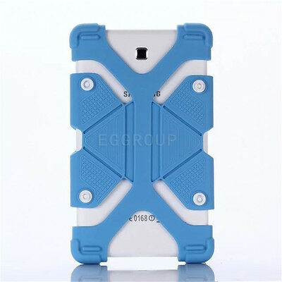 "US For Various 7 - 8"" Tablet Kids Safe Shockproof Adjustable Silicone Case Cover"