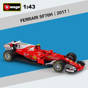 2017-Ferrari-F1-SF70H-7-K-Raikkonen-Racing-Car-Diecast-Model-Gifts-1-43-Scale