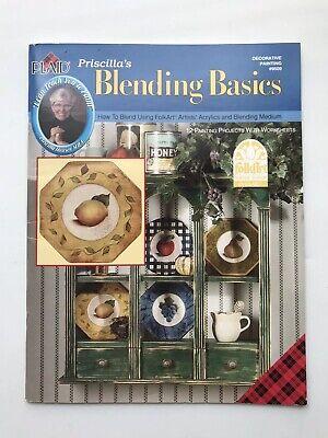 Priscilla Hauser Blending Basics Painting 35 PageDecorative Painting Book