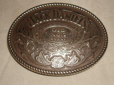new jack daniel/'s belt buckle dated 2005