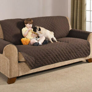 Details about 1-3 Seater Sofa Cover Couch Pet Dog Kids Mat Cover Slipcover  Furniture Protector