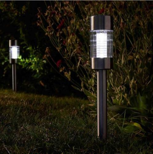 Smart garden Solar lights Value Pack Flare Stake Lights 5 Pack