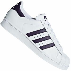 Adidas Originals Superstar Sneaker Femmes Chaussures De Sport db3346 White Purple