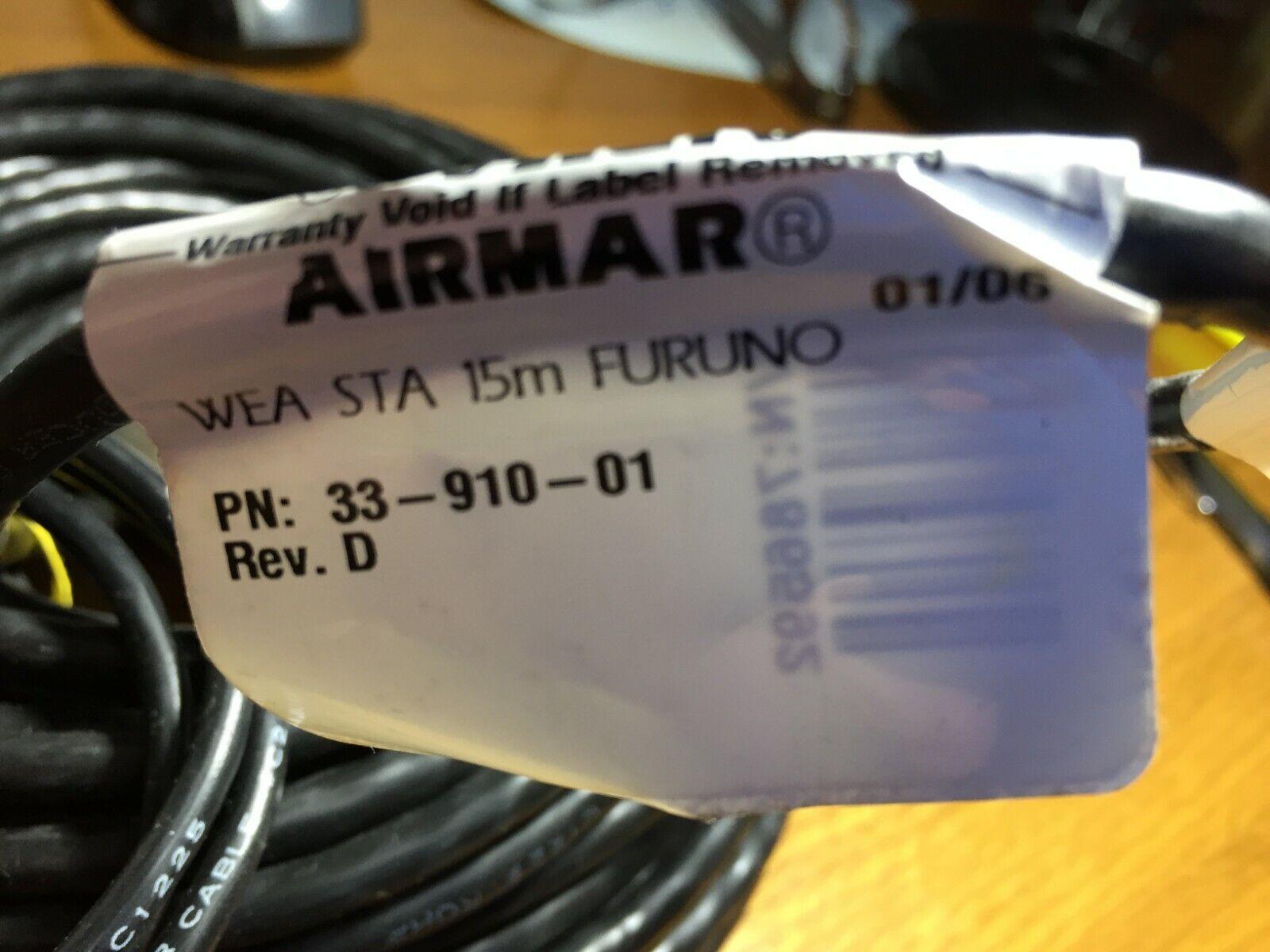 Airmar (101) 33-910-01 cable WEA STA 15 metros FORUNO Rev.D NMEA 0183