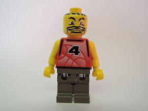 LEGO personnage sports NBA joueurs nba030 rouge équipe Nº 4 set 3431  </span>