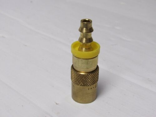 """NEW PARKER BRASS STRAIGHT BARBED DISCONNECT FITTING  1//4/"""" P200 SERIES"""