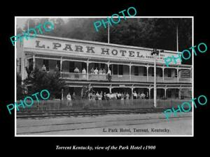 OLD-LARGE-HISTORIC-PHOTO-OF-TORRENT-KENTUCKY-VIEW-OF-THE-PARK-HOTEL-c1900