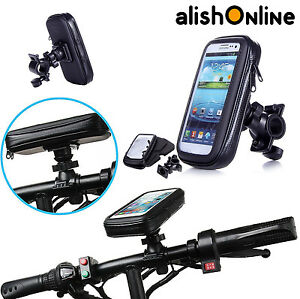 Bicycle-Cycle-Waterproof-Case-Cover-Bike-Mount-Holder-All-Samsung-Galaxy-Mobiles