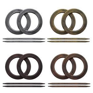 2-4-6-Pieces-Antique-Round-Curtain-Holdbacks-Window-Tie-Backs-Decorative-Drapery
