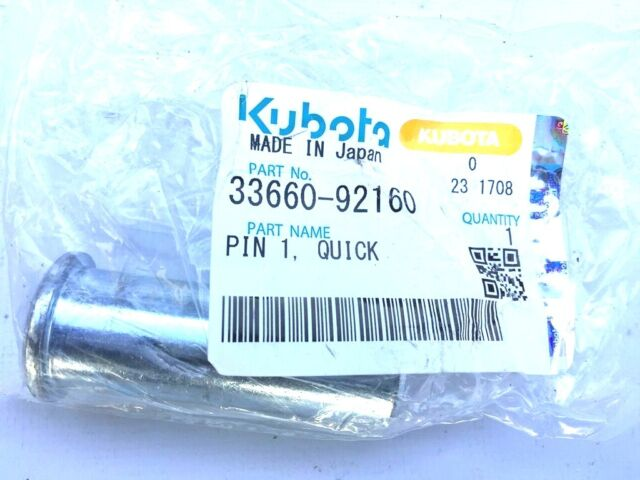 NEW OEM  KUBOTA REAR HITCH BUSHING #70091-00187