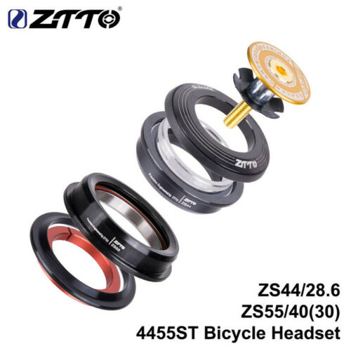 ZTTO 4455ST Headset Tapered Straight Universal 1.5inch 28.6mm Fork High-Quality