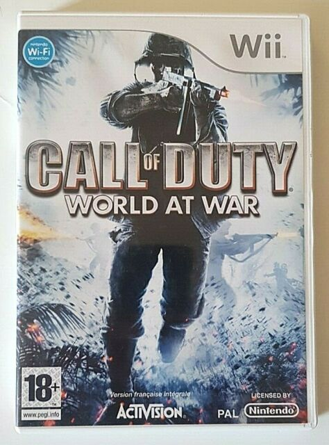 Call Of Duty World At War - Nintendo Wii - PAL - Complet