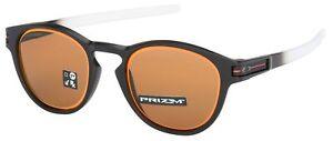 Oakley-Latch-Sunglasses-OO9265-3653-Matte-Black-Fade-Prizm-Bronze-Lens-BNIB