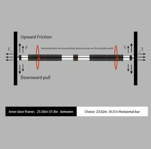 Heimtraining Gym Chin Up Pull Up Trainingsstange Tür Horizontale Stangen Übung C