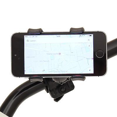 RYDE MOTORCYCLE HANDLEBAR MOBILE PHONE/SATNAV CLAW HOLDER/MOUNT BIKE/MOTORBIKE