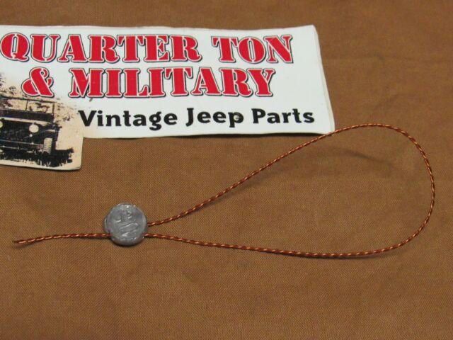 [DIAGRAM_3NM]  Jeep Willys MB GPW WWII Voltage Regulator Seal Wire G503 (s217) for sale  online | eBay | Willy S Jeep Alternator Regulator Wiring |  | eBay