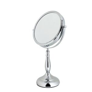 7-x-Magnification-Round-Chrome-034-Vidos-034-Vanity-Mirror-Showerdrape