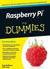 Raspberry Pi Fur Dummies by Sean McManus, Gerhard Franken, Mike Cook (Paperback, 2014)