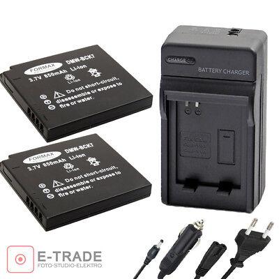 Cargador de batería para Panasonic Lumix DMC fh2 fh2a fh2gk