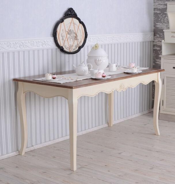 gigantischer Esstisch Landhaus Tisch Shabby Chic | eBay