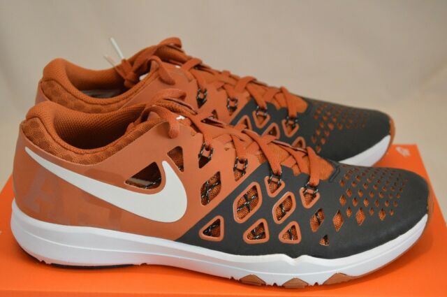3318f1d47b63 Men s Nike Train Speed 4 Amp Texas Longhorns Shoes 844102-800 Size ...
