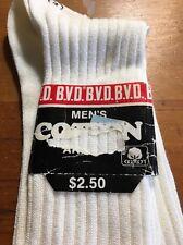1 Pair Mens vintage socks Interwoven Mercerized Cotton Lisle Size 11.5 NWT NEW!