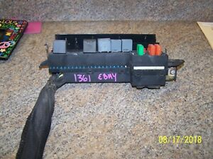 details about 2000 2001 2002 2003 2004 2005 chevrolet cavalier sunfire fuse  relay box engine